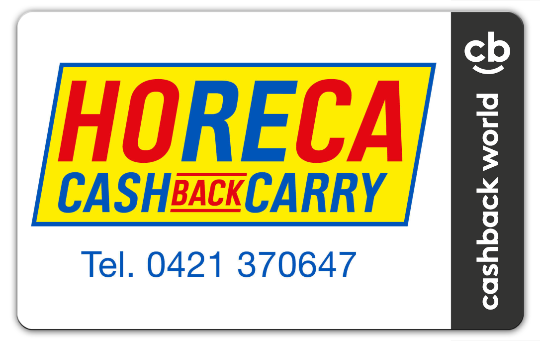 Fidelity Card Horeca Cash Back Carry